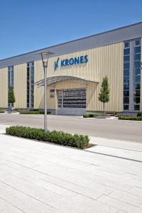 Aussenansicht des Industrieunternehmens Krones.