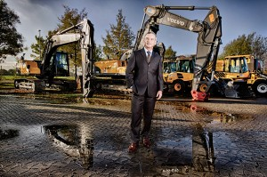 Porträtfotos eines Hamburger Managers eines Industrieunternehmens