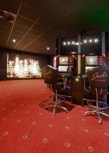 Innenansicht eines Casinos.
