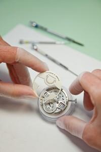 Manufaktur für hochwertige Uhren.