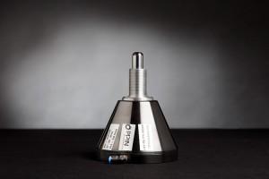 Produktfoto zeigt ein Objekt vor Verlaufshintergrund im Fotostudio