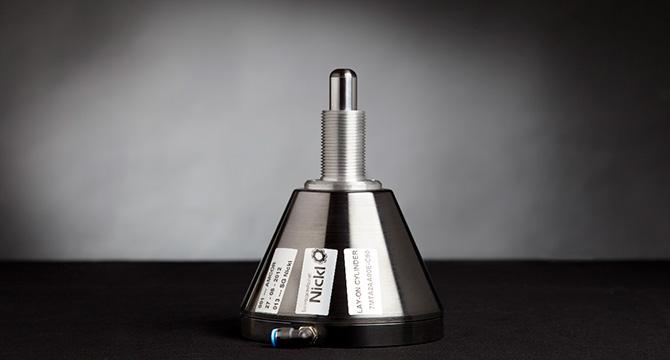 Dieses Produktfoto wurde im Fotostudio fotografiert und zeigt ein industrielles Bauteil aus Metall