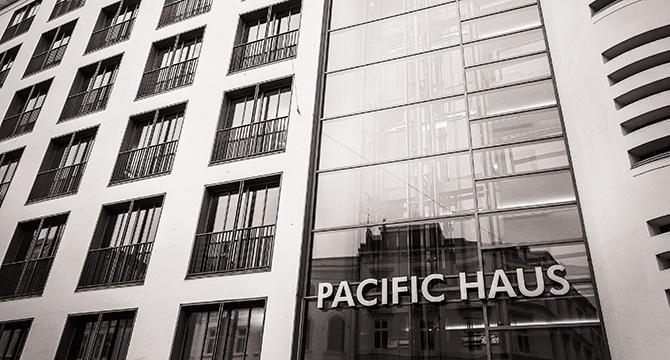Aussenansicht Pacific Haus in Hamburg