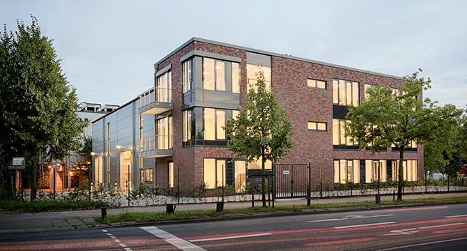 Firmenzentrale der Valdemar Krog GmbH in Hamburg