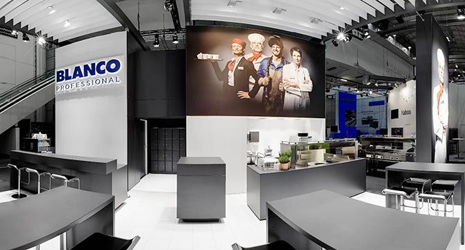 Virtuelles Panorama auf der Internorga in Hamburg für BLANCO Profesional