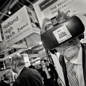 Virtuelle Realität als Zukunftsthema auf der Hannover Messe.