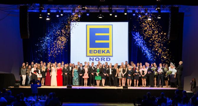 Auszubildenden Bestenehrung von EDEKA Nord 2016 in Lübeck.