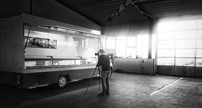 Making-of eines Fotoshootings mit dem Hamburger Produktfotografen Bernhard Classen