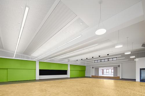 Fotograf aus Hamburg fotografiert fuer Architekten einen Neubau