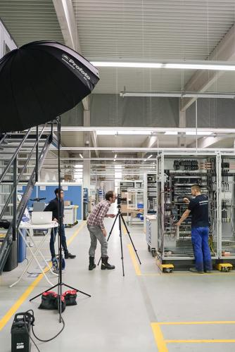 Fotograf Bernhard Classen ist spezialisiert auf Industriefotografie in grossen Produktionsanlagen.