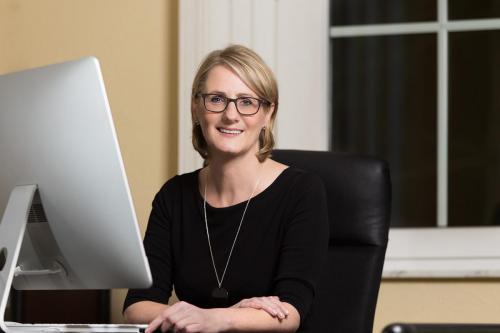 Porträtfotografie einer Unternehmerin